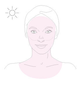 diamond white spf 50 pa+++ oil-free brilliant sun protection - step 1 - Getting the best of it