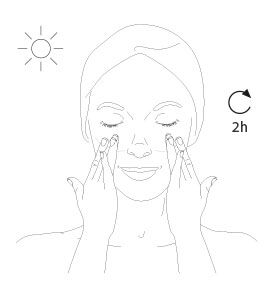 diamond spf 50 pa +++ oil-free brilliant sun protection - step 2 - Getting the best of it