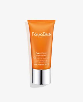 c+c vitamin sheer fluid spf 25 - Cremas de tratamiento Cremas de tratamiento con color Protectores solares - Natura Bissé