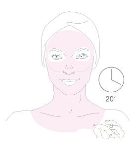 diamond ice-lift mask - step 3 - Getting the best of it