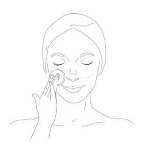 eye & lip makeup remover - step 2 - Getting the best of it