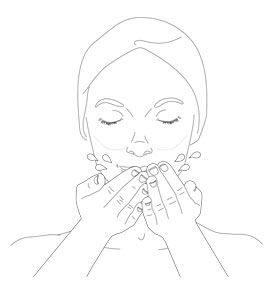 diamond cocoon daily cleanse - step 2 - Getting the best of it
