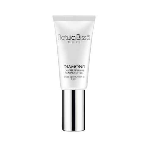 diamond spf 50 pa +++ oil-free brilliant sun protection - Treatment creams with color Sun Protection - Natura Bissé