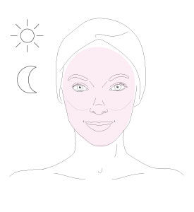 stabilizing cleansing mask - step 1 - Getting the best of it