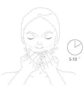 stabilizing cleansing mask - step 4 - Getting the best of it
